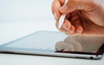 Rita på iPad